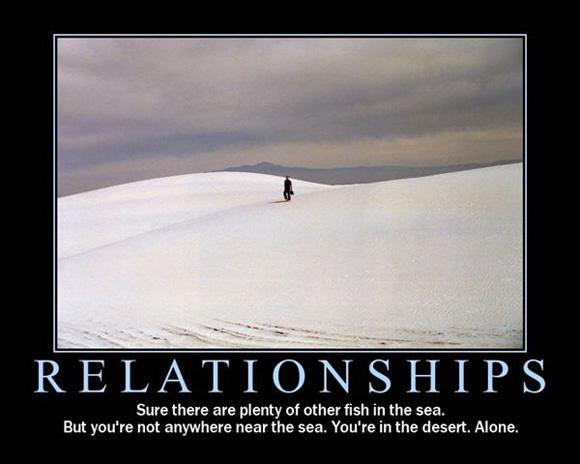 Demotivational Poster: Relationships