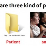 There are three kinds of people…