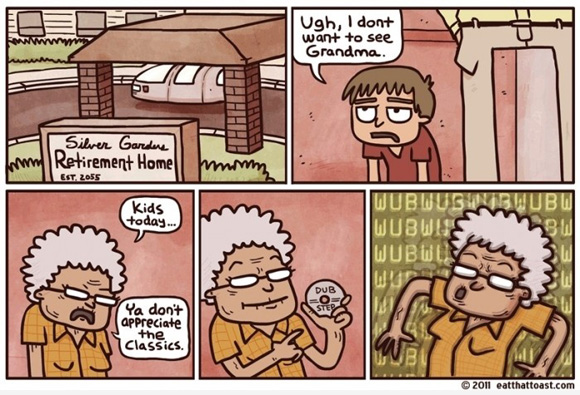 All of us in 50 years from now