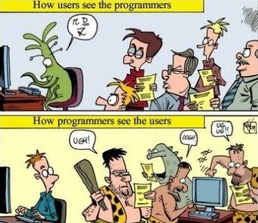 Users Versus Programmers