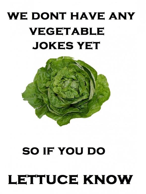 Vegetable jokes