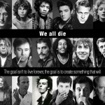 We all die.