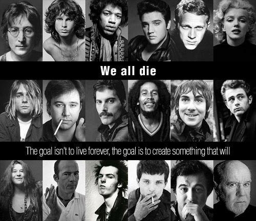 We all die.