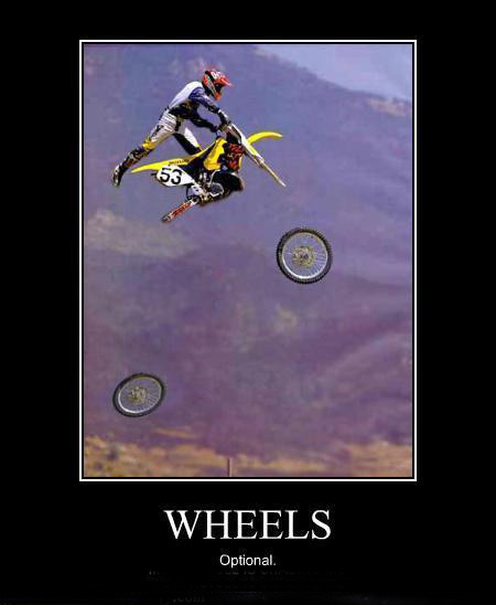 wheels? optional!